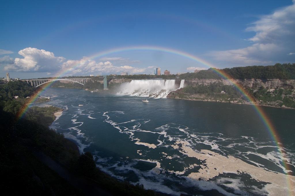 Niagarafaelle mit Regenbogen