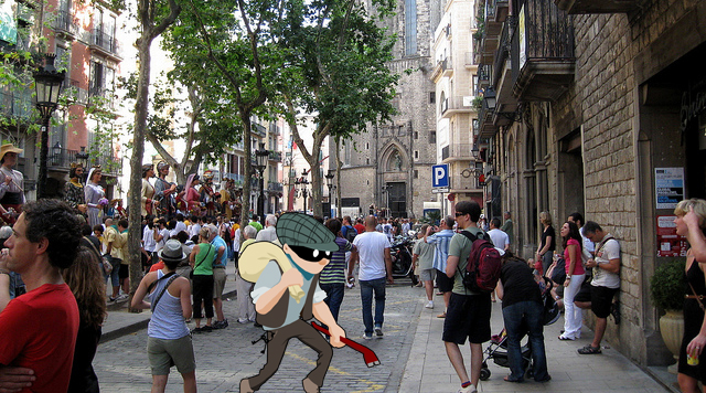 Barcelona Tumult