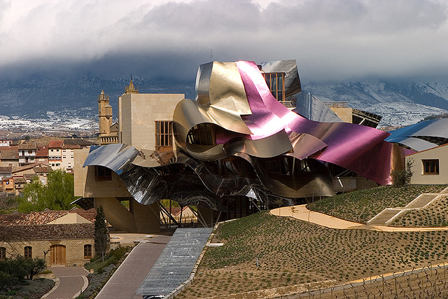 Hotel Marques de Riscal Panorama