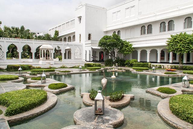 Taj Lake Palace Inner